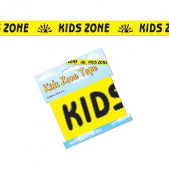 "Party-Absperrband ""Kids Zone"" 6 m"