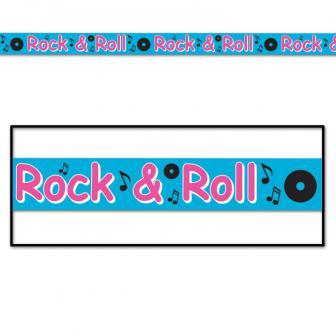 """Party-Absperrband """"Rock & Roll"""" 6 m"""