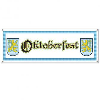 "Party-Banner ""Oktoberfest"" 152 x 53 cm"