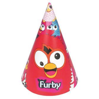 "Party-Hütchen ""Furby"" 6er Pack"