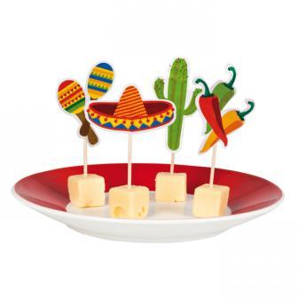 "Party-Picker ""Happy Fiesta"" 12er Pack"