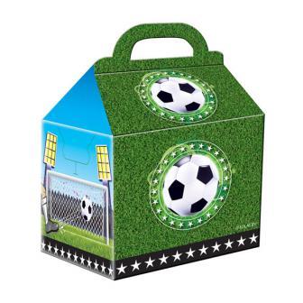 "Party-Tüten aus Pappe ""Fußball-Party"" 4er Pack"