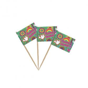 "Party-Picker ""Wilde Flower Power-Party"" 50er Pack"