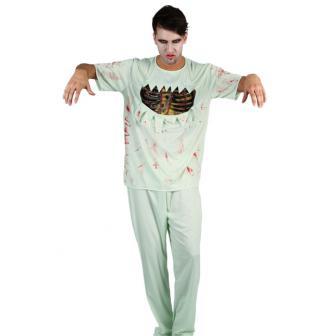 """Patienten-Kostüm """"Entlaufener Zombie"""""""