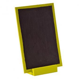 Personalisierbare Holz-Tafel mit Aufsteller 15 x 10 cm-grün