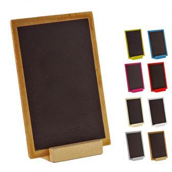 Personalisierbare Holz-Tafel mit Aufsteller 15 x 10 cm