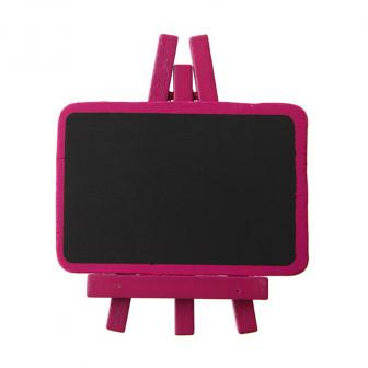 Personalisierbare Namenstafel 4er Pack-pink