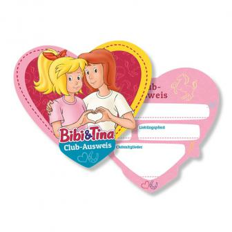 """Personalisierbarer Ausweis """"Bibi und Tina"""" 6er Pack"""