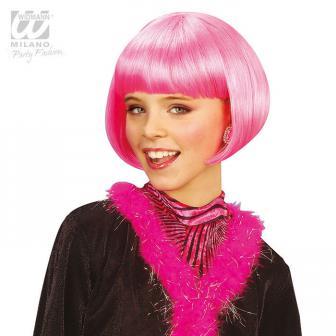 "Kinder-Perücke ""Jazz""-pink"