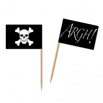 Picker Piratenflagge 50er Pack