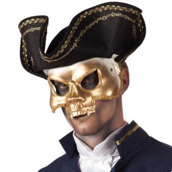 Piratenmaske mit Hut
