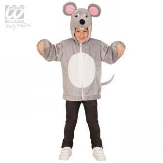 """Plüschjacke für Kinder """"Niedliche Maus"""""""