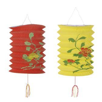 Chinesische Lampions 23 cm 2er Pack