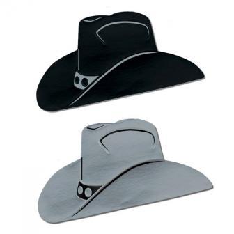 "Raumdeko Cowboyhut ""Wild West""  24,5 cm x 48 cm"