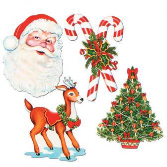 "Raumdeko ""It´s Christmas Time"" 4-tlg."