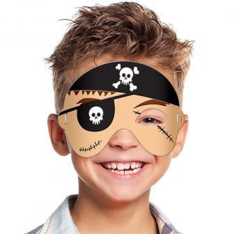 """Schaumstoff-Maske """"Kleiner Pirat"""" 14 cm"""