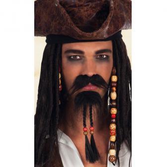 """Schnurrbart """"Pirat"""" 2-tlg."""