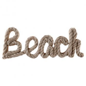 """Schriftzug aus Holz """"Beach"""" 25 cm"""