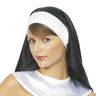 Schwarze Nonnenhaube