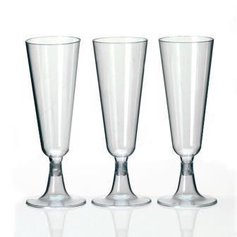 Sektglas aus Kunststoff 6er Pack