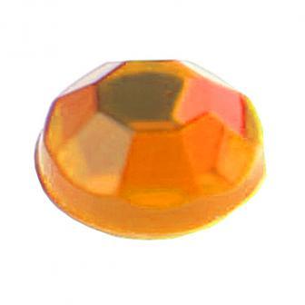 Selbstklebende Strass-Sticker 160er Pack-orange