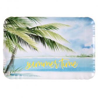 "Servierplatte ""Sommer am Strand"" 5er Pack"