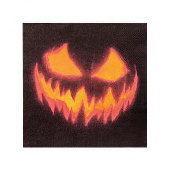 """Servietten """"Creepy Pumpkin"""" 12er Pack"""