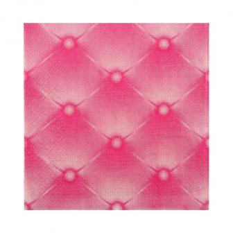 "Servietten ""Edle Steppoptik"" 20er Pack-pink"