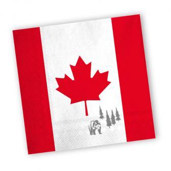 """Servietten """"Kanada"""" 20er Pack"""