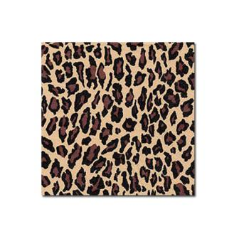 "Servietten ""Leoparden-Muster"" 20er Pack"