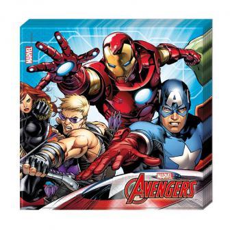 """Servietten """"Mächtige Avengers"""" 20er Pack"""