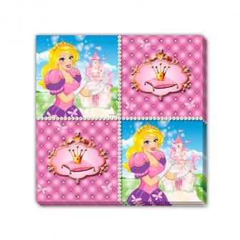 "Servietten ""Prinzessinnenleben"" 16er Pack"
