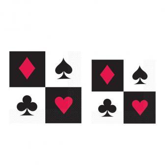 """Servietten """"Las Vegas"""" 16er Pack"""