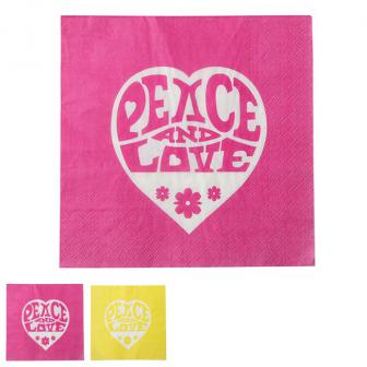 """Servietten """"Peace"""" 20er Pack"""