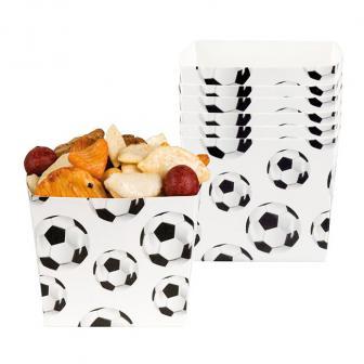 """Snack-Schalen """"Fußball Traum"""" 6er Pack"""