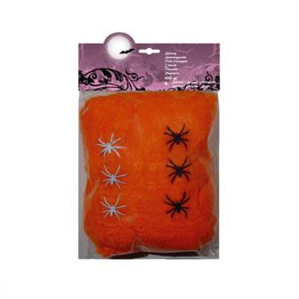 Spinnennetz Orange 100 g
