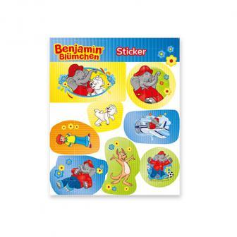 Sticker Benjamin Blümchen 8-tlg.