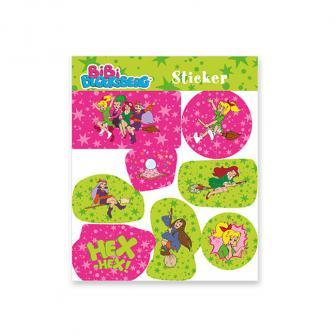 Sticker Bibi Blocksberg 8-tlg.