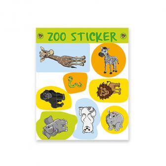 Sticker Willkommen im Zoo 8-tlg.