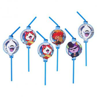 "Strohhalme ""Yo-Kai Watch"" 8er Pack"