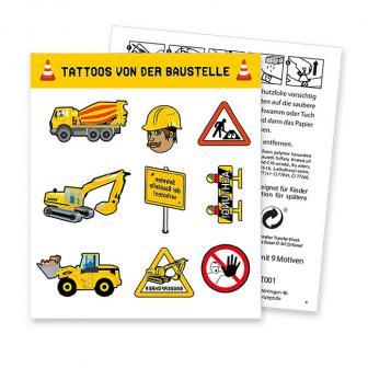 """Tattoo """"Baustelle"""" 9-tlg."""