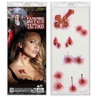 """Tattoo """"Vampirbiss"""""""