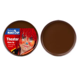 Theater-Schminke 25 g-braun