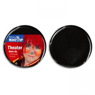 Theater-Schminke 25 g-schwarz