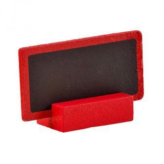 """Tisch- oder Namenskarte """"Tafel"""" 6er Pack-rot"""