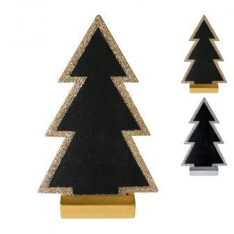 """Tisch- oder Namenskarte """"Tannenbaum"""" mit Aufsteller 15 cm"""
