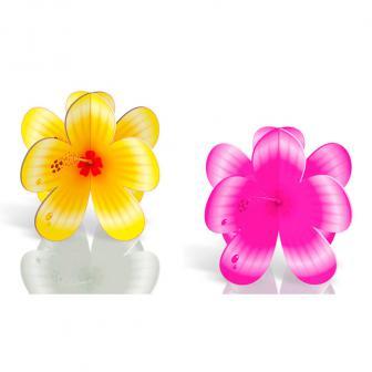 """Tischaufsteller """"Hibiskusblüten"""" 4er Pack"""