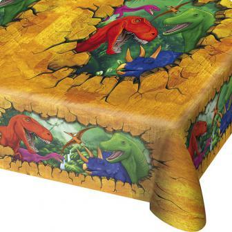 tischdecke abenteuerliche dinos 180 x 130 cm g nstig kaufen bei. Black Bedroom Furniture Sets. Home Design Ideas