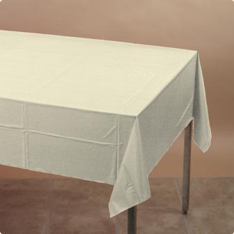 Tischdecke 137 x 274 cm-creme