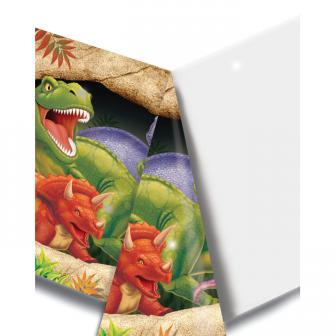 """Tischdecke """"Gefährliche Dinosaurier"""" 137 x 274 cm"""